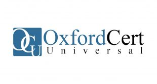 Strategic Partnership with Oxford Cert Universal Certification Institute of England Photo