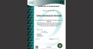 Certificate Issuing from eQual Assurance Company of Australia by Attitude of Pioneer Thinkers Photo